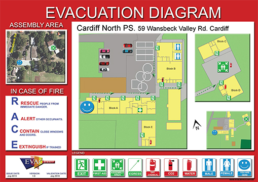 Evacuation Diagrams | Evacuation Plans | Emergency Diagrams Australia