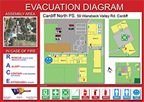 emergency plan template for schools - evacuation plans fire evacuation plan template australia